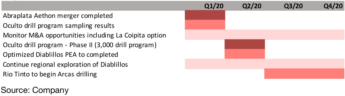 Figure 8: AbraPlata plans for 2020