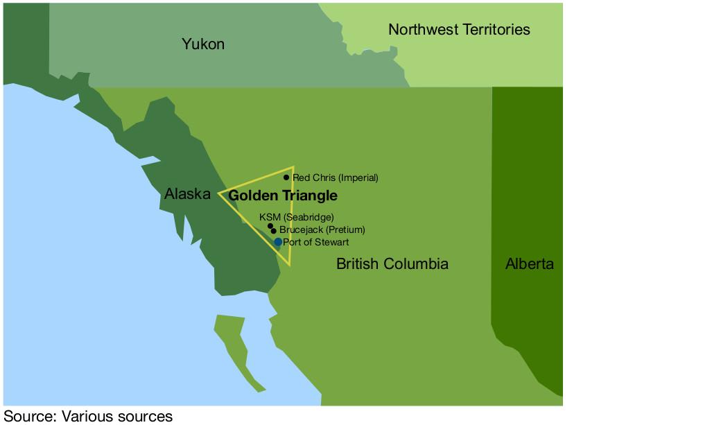 Figure 10: The golden triangle in British Columbia