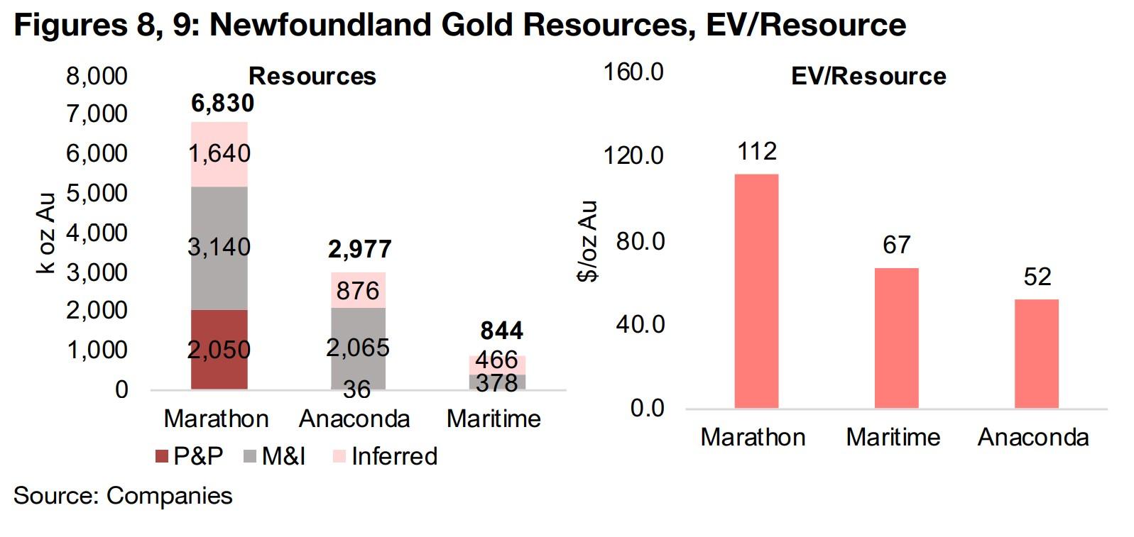 2) Newfoundland Gold Producers and Explorers