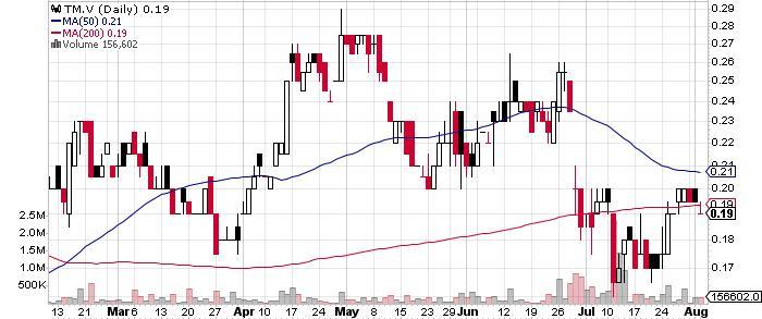 Trigon Metals Inc. graph