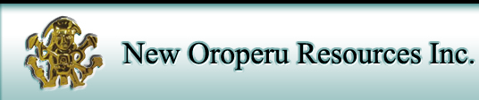 New Oroperu Resources Inc.